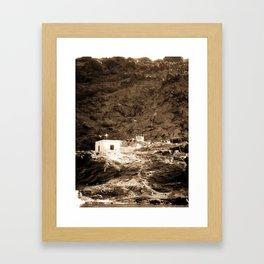 Goat in Greece Framed Art Print