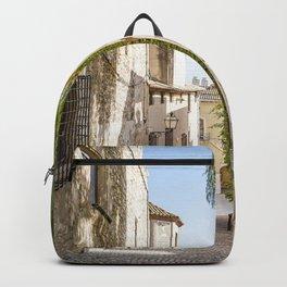 Beautiful Spanish Village Backpack