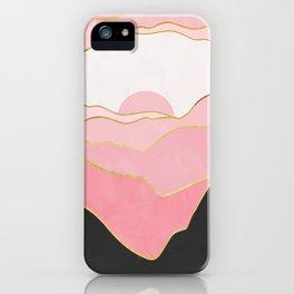 Minimal Landscape 02 iPhone Case