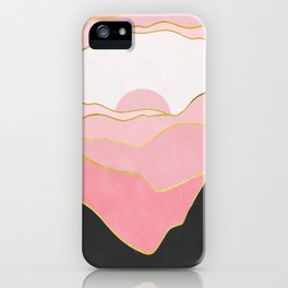 Minimal Landscape 02 iPhone Case