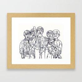 Boys'll B Boys Framed Art Print