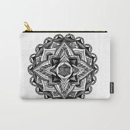 Mandala Circles Carry-All Pouch