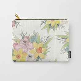 English Spring Garden Carry-All Pouch