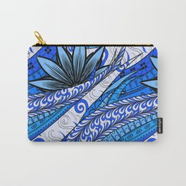 Boho Stylized Rope Pattern Carry-All Pouch