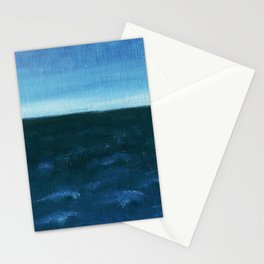 Night sea Stationery Cards