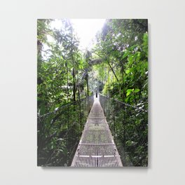 No Turning Back Metal Print