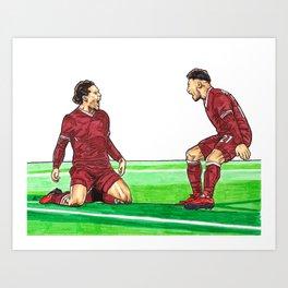 Cup Winner Art Print