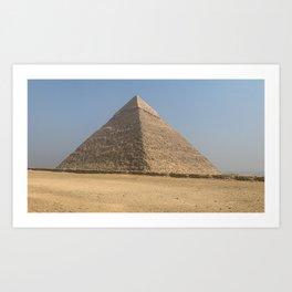 Egypt - Great Pyramids of Giza Art Print