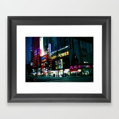 TKY-Akihabara Framed Art Print