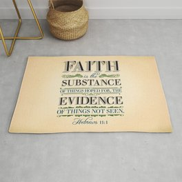 The Substance of Things Hoped for . . . Rug