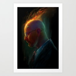 Fire in the minds of men Art Print