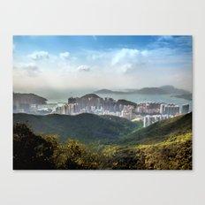 Hong Kong from Victoria Peak Canvas Print
