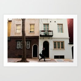 5:09 pm in Philadelphia. Art Print