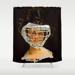 READY FOR THE GAME II Shower Curtain