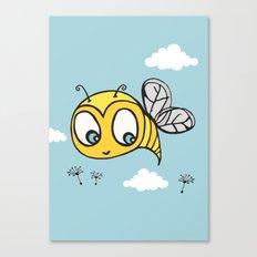 Happy Bumblebee Canvas Print