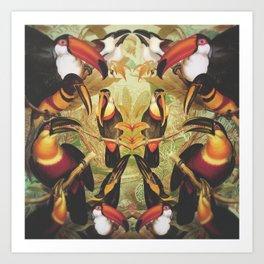 Tucans Art Print