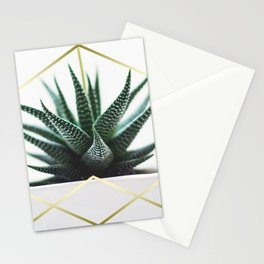 LUXE x SHEA - Gold plant life minimal Stationery Cards