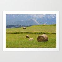 montana Art Prints featuring Montana by Claudia Martin