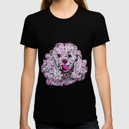The happy Poodle Love of My Life T-shirt