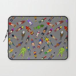Butt of Superhero Villian - Dark Laptop Sleeve