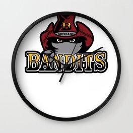 Brisbane Bandits Wall Clock