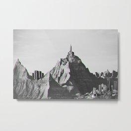 Mountain Skyline Metal Print