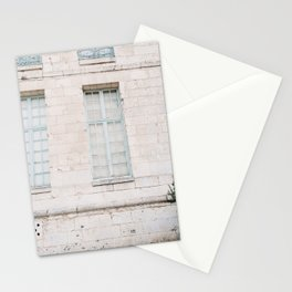 Blue window | France | europe | Normandie | travel photography Stationery Cards