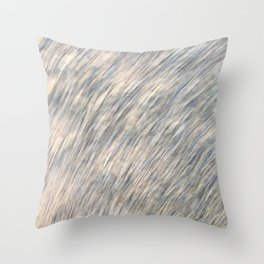 Sand stone scribble Throw Pillow