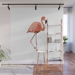 Pink Flamingo - Flamenco - 57 Montgomery Ave Wall Mural