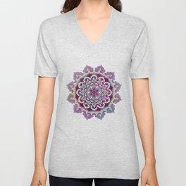 Hipnotic Mandala Design Unisex V-Neck