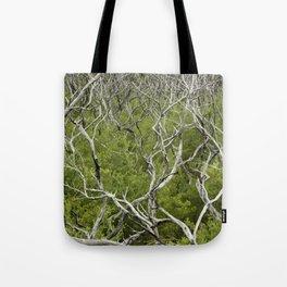 bushfire trees Tote Bag