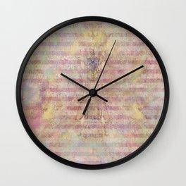 Art Journal 1 - Hint of an Angel Wall Clock