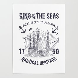 King of the seas Poster