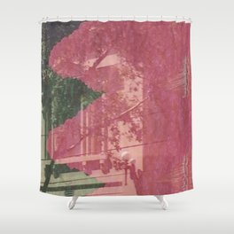 feeling pink on chapel street Shower Curtain