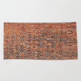 Brick Beach Towel