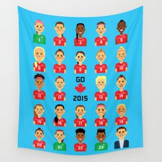 Go Canada 2015! Wall Tapestry