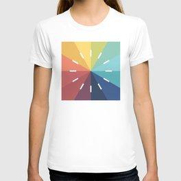 Modern Color Wheel T-shirt