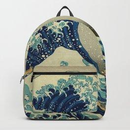 Hokusai Katsushika - Great Wave Off Kanagawa Backpack