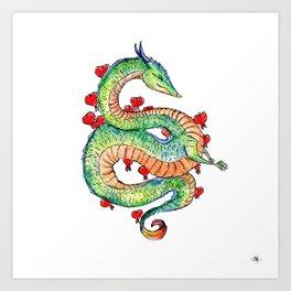 Chinese Zodiac: Dragon Art Print