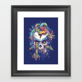 Strangely familiar Framed Art Print