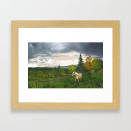 From the Cottage Framed Art Print