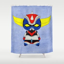 A Boy - Grendizer aka Goldorak Shower Curtain
