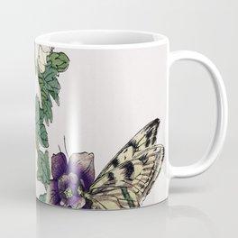 Butterflies Traditional Japanese Wildlife Coffee Mug