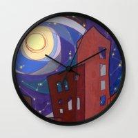 fullmetal alchemist Wall Clocks featuring Alchemist by Zuzana Ondrejkova