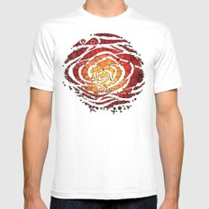 Rose Water Mens Fitted Tee White MEDIUM