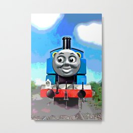 Thomas Has A Smile Metal Print
