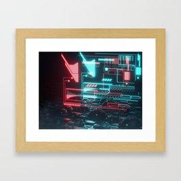 HUD City Framed Art Print
