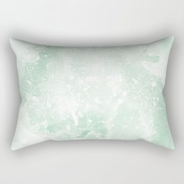 Degrade Abstract Leaves Rectangular Pillow