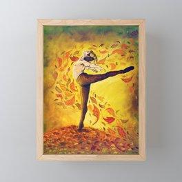 Autumnal Spirit by Mary Bottom Framed Mini Art Print