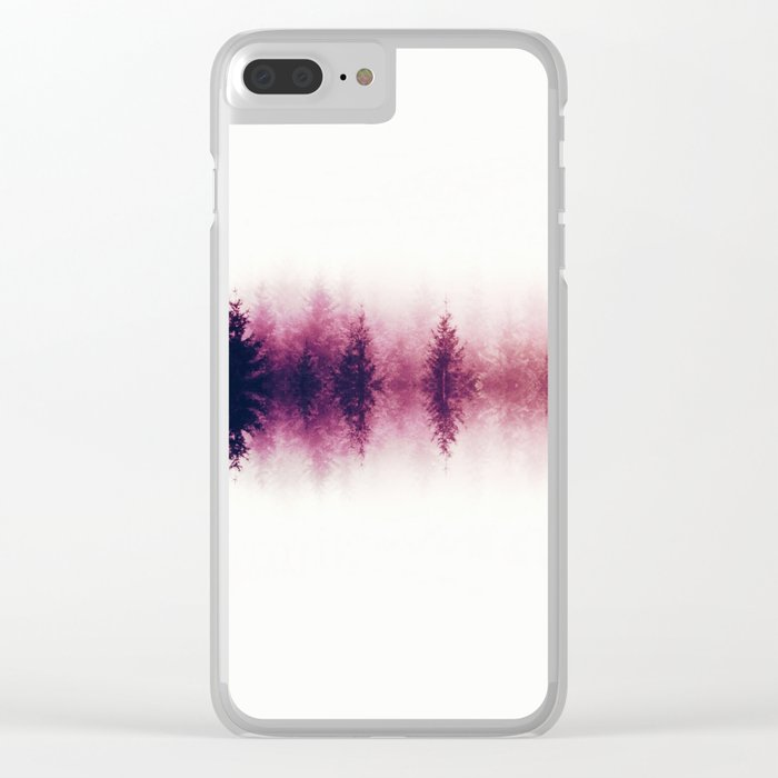 Sound waves -fall Clear iPhone Case